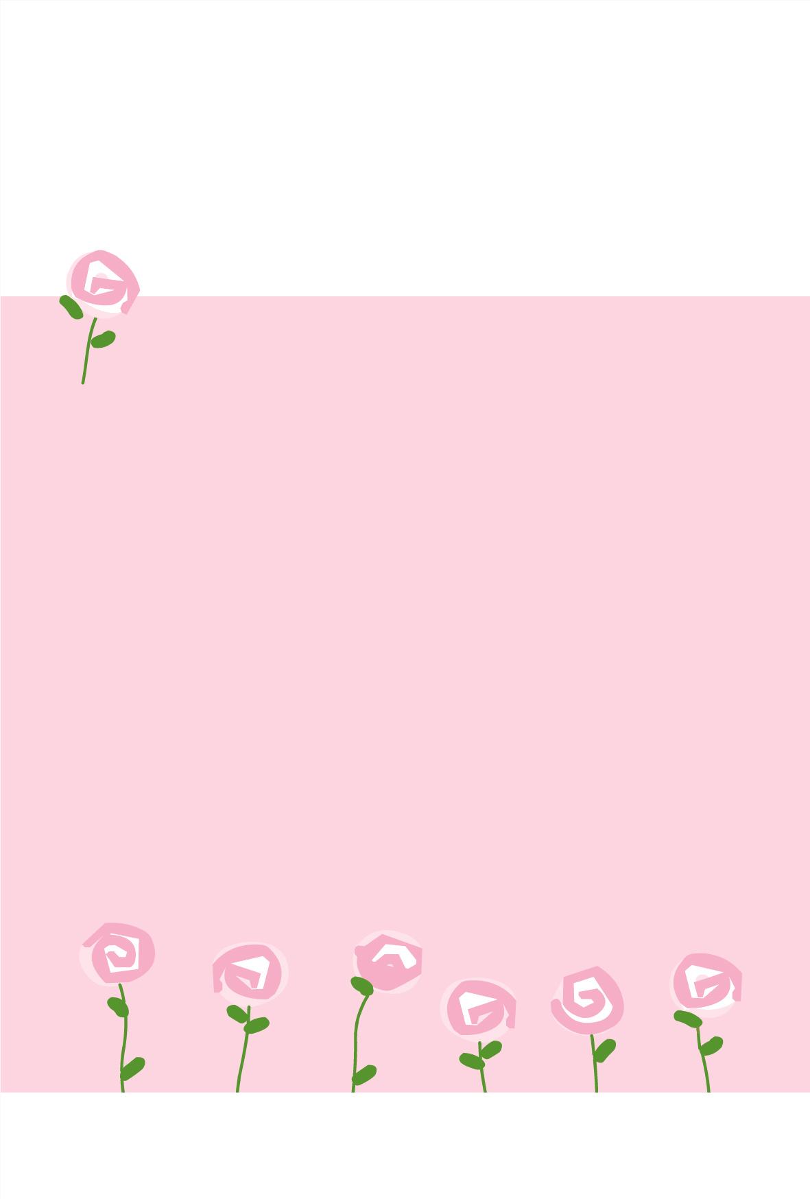 カード カード テンプレート 無料 かわいい : Sakura Print